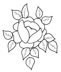 coloriage d u0027une grosse rose pour papa tête à modeler