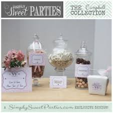 Wedding Buffet Signs by Love Is Sweet Sign Simply Sweet