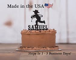 cowboy cake toppers cowboy cake topper etsy