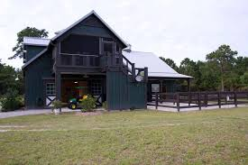 Barn Style Houses Creating The Barn With Living Quarters Floor Plans