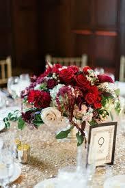 Burgundy Wedding Centerpieces by Semple Mansion Wedding Gold And Burgundy Wedding Blush