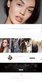 website for makeup artist lilah gow makeup artist website redesign