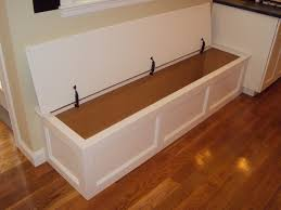kitchen bench with hinged top storage wellesley ma built in