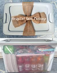 hospital gift basket diy hospital care package bellinis on bellemeade