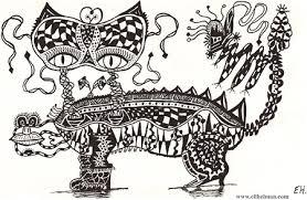 detailed pen u0026 ink drawings by eli helman a gallery of intricate