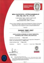 bureau verita ohsas 18001 quality standards