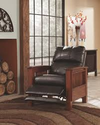 Western Leather Chair Santa Fe High Leg Recliner Corporate Website Of Ashley Furniture