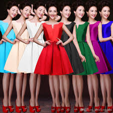 short cocktail party dresses for women 2017 hepburn style 1950 u0027s