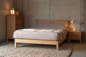 Modern Wooden Bedroom Furniture Malabar Contemporary Wooden Bed Natural Bed Company
