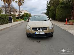nissan qashqai 2008 suv 1 6l petrol manual for sale paphos