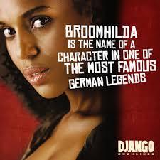 django unchained on schultz broomhilda is the name of