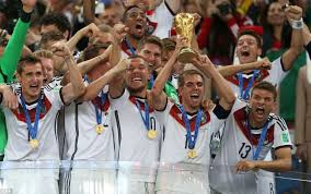 germany s world cup heroes welcomed by thousands on the streets of