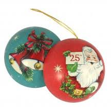 metal ornament gift tins from