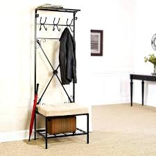 coat storage rack interior coat rack with storage coat storage
