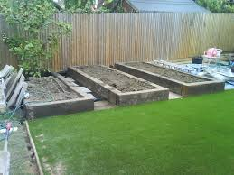 raised bed vegetable gardening layout home outdoor decoration