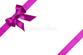 purple ribbons purple ribbons with bow with tails stock photo image of image