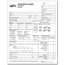 vehicle invoice templates downloadable auto repair invoice for