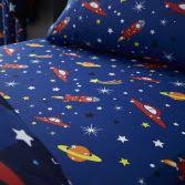 Outer Space Curtains Colourful Outer Space Fully Lined Eyelet Curtains Tonys
