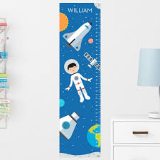kids wall growth chart gardens and landscapings decoration growth chart sticker etsy space growth chart decal wall growth chart decal growth chart sticker boys height