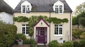 purple exterior paint small country homes beauteous small old