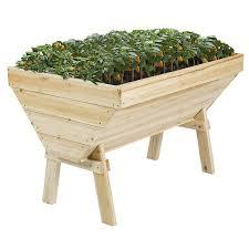 Wooden Vegetable Garden by Best Choice Products 4 U0027x3 U0027 Wooden Raised Vegetable Garden Bed Patio Ba