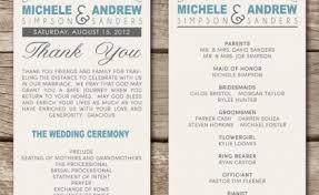 vow renewal program templates wedding anniversary program script tbrb info