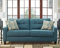 Teal Sofa Set by Shayla Queen Sofa Sleeper Ashley Furniture Homestore