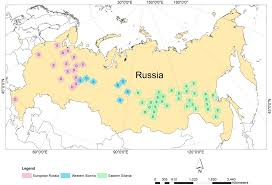 Russia Time Zone Map by Russian Boreal Forest Disturbance Maps Derived From Landsat