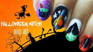 halloween witch nail art how to paint a horror nail manicure