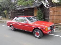 classic red mercedes mercedes benz 280ce red 1981 garage 310