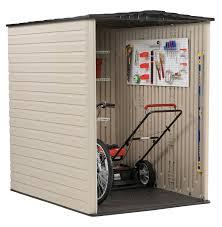 amazon com rubbermaid plastic large outdoor storage shed 159 cu