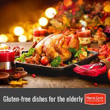 4 thanksgiving dishes for gluten free seniors