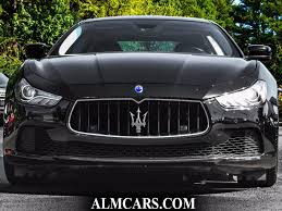 chrome maserati ghibli 2014 used maserati ghibli 4dr sedan s q4 at alm gwinnett serving