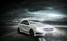 mercedes wallpaper white car mercedes amg a45 hd wallpapers 4k macbook and desktop