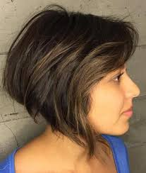 haircut with weight line photo 50 cute looks with short hairstyles for round faces