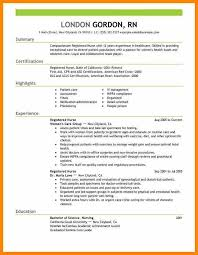 Professional Nurse Resume Template Nurse Resume Template Free Resume Template And Professional Resume