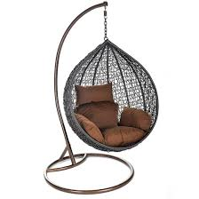 cheap rattan swing patio garden hanging egg chair with stand
