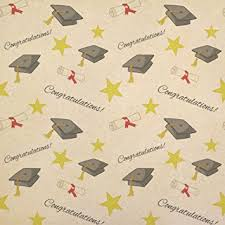 graduation congratulations kraft present gift wrap