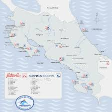 Map Of San Jose Costa Rica by Costa Rica Map Costa Rica Maps To Help You Plan Your Vacation