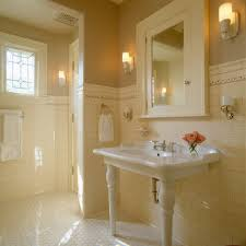 boston commercial bathroom design contemporary with windows stone