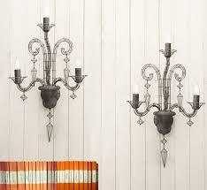 biju french wire chandelier wall light