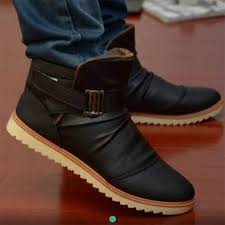 buy boots kenya faux leather s hightop ankle boots elegantly kenya