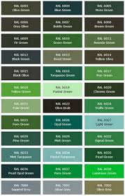 ral shipping container color codes