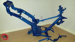 frame powder coating piaggio gilera nrg typhoon