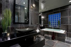 bathroom extraordinary modern black master bathroom design ideas