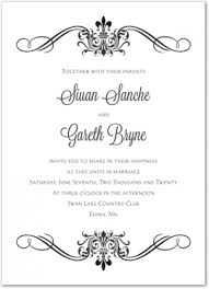 Blank Invitations Blank Wedding Invitation Templates Wblqual Com