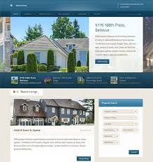 real estate listing template 48 best web design for real estate businesses images on