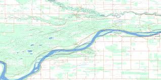Lake Vermilion Map Fort Vermilion Ab Free Topo Map Online 084k08 At 1 50 000