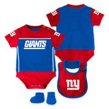 Ny Giants Crib Bedding Newborn New York Giants 3 Creeper Set Nflshop I Don T