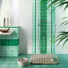 green bathroom tile ideas white and green bathroom tile designs great bathroom tile